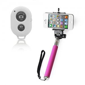 Ckeyin ® Selfie Stange mit Smartphone-Halterung